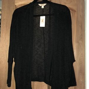 Black Decree Cardigan